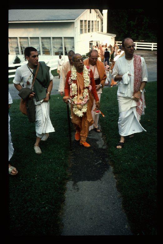 Srila Prabhupada WDC visit 1976