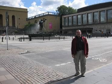 me in Gothenburg