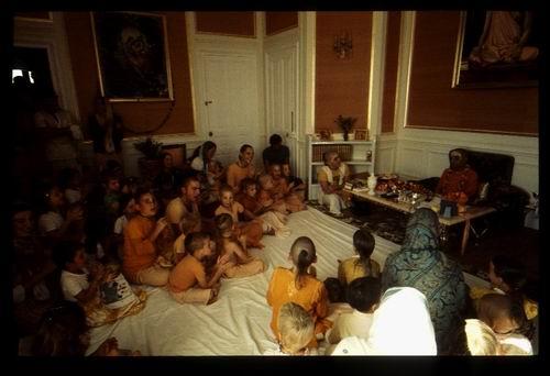 gurukula kids chanting