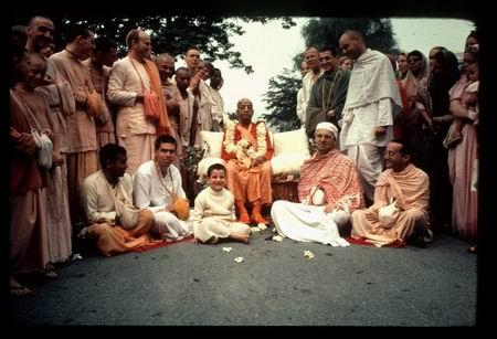 BI with Srila Prabhupada