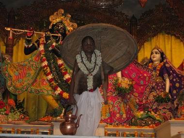 Lord Vamana appears