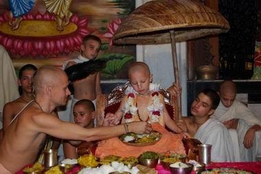 Radha Raman das brahmacari as Vamanadeva
