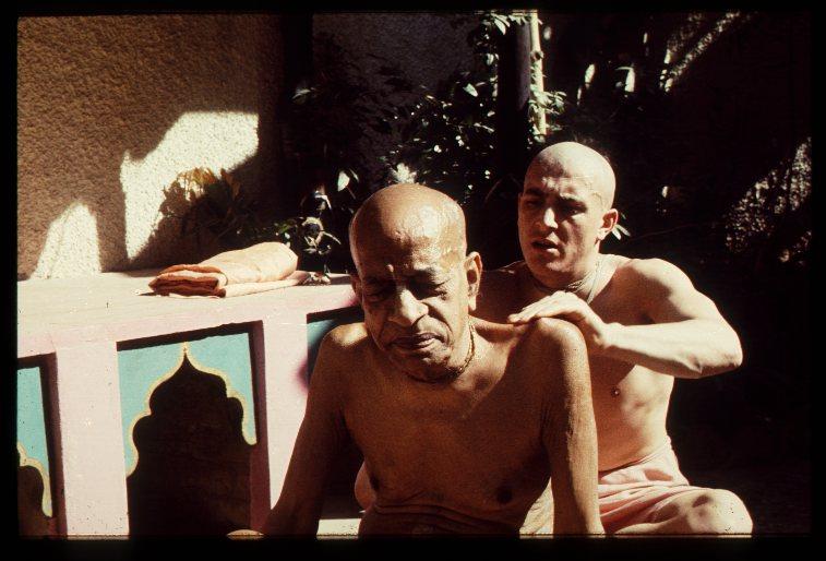 November 1976 Vrindavana