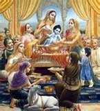 Krsna�s birth celebration