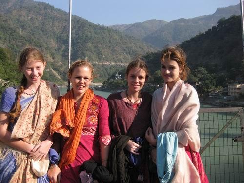 girls in Hrishikesh