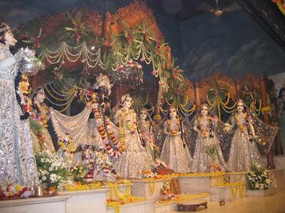 Radha Madhava and asta-sakhis