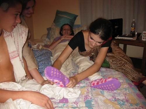 Kamalakshi the sock lady