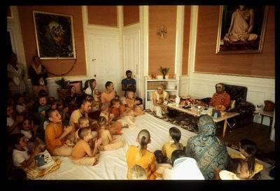August 2 1976 meeting with Gurukula