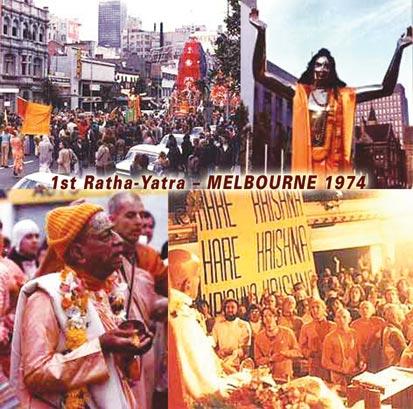 Srila Prabhupada in Melbourne, 1974