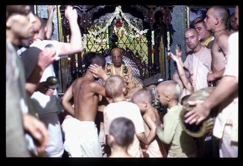 Gurukula children New Vrindaban June 1976