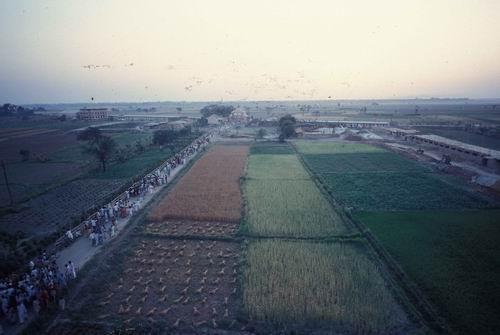 The park area circa 1976
