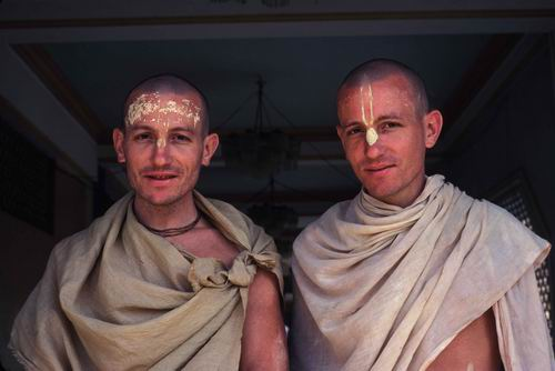 """the transcendental twins about whom Srila Prabhupada said """"These twins, everyone should know it, there is no comparison."""""""