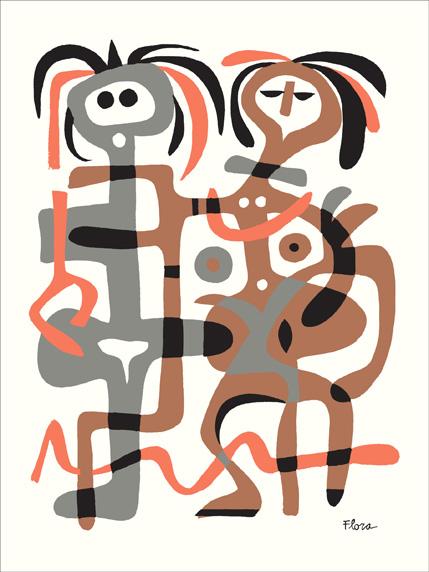 jim-flora-entangled-couple-print